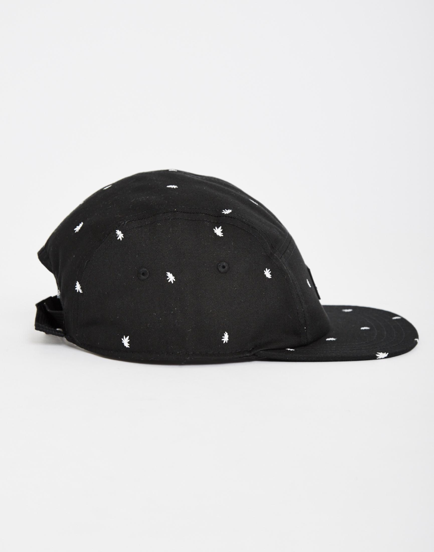 aecb1a22dec Lyst - Vans Davis 5-panel Camper Hat in Black for Men