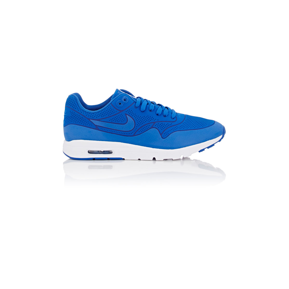lyst nike women 39 s air max 1 ultra moire sneakers in blue. Black Bedroom Furniture Sets. Home Design Ideas