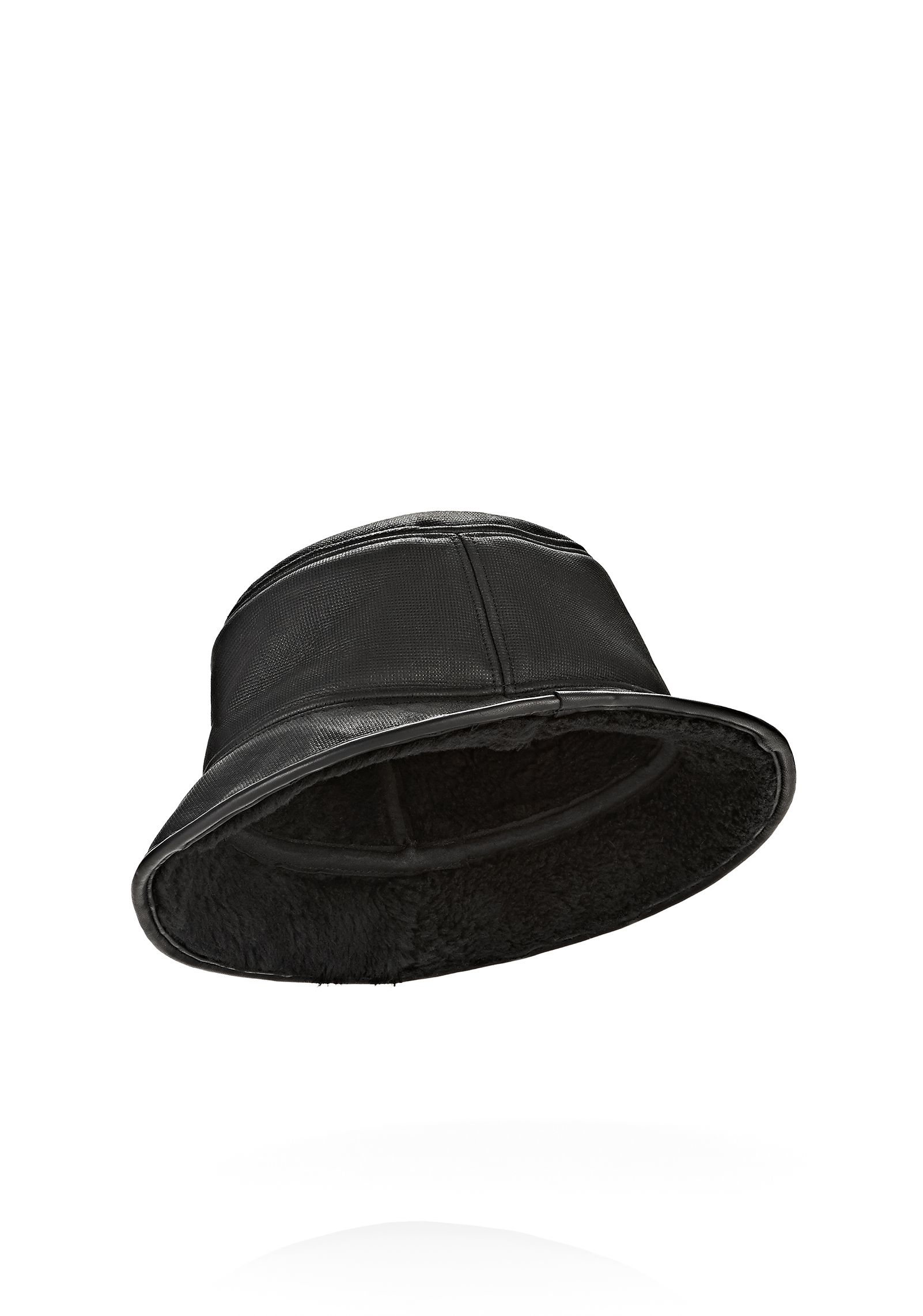 Lyst - Alexander Wang Shearling Bucket Hat in Black for Men 26ee7a56a57