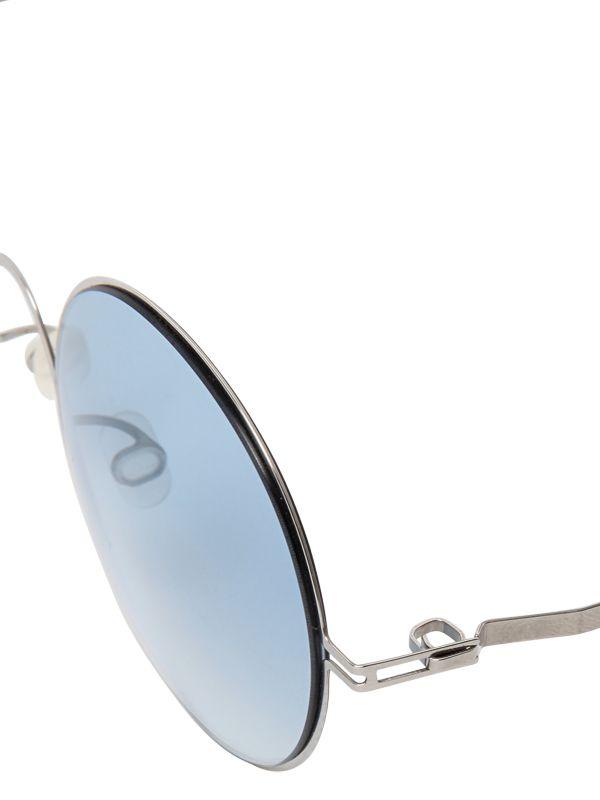 Mykita Round Sunglasses  mykita priska extra light round sunglasses in metallic lyst