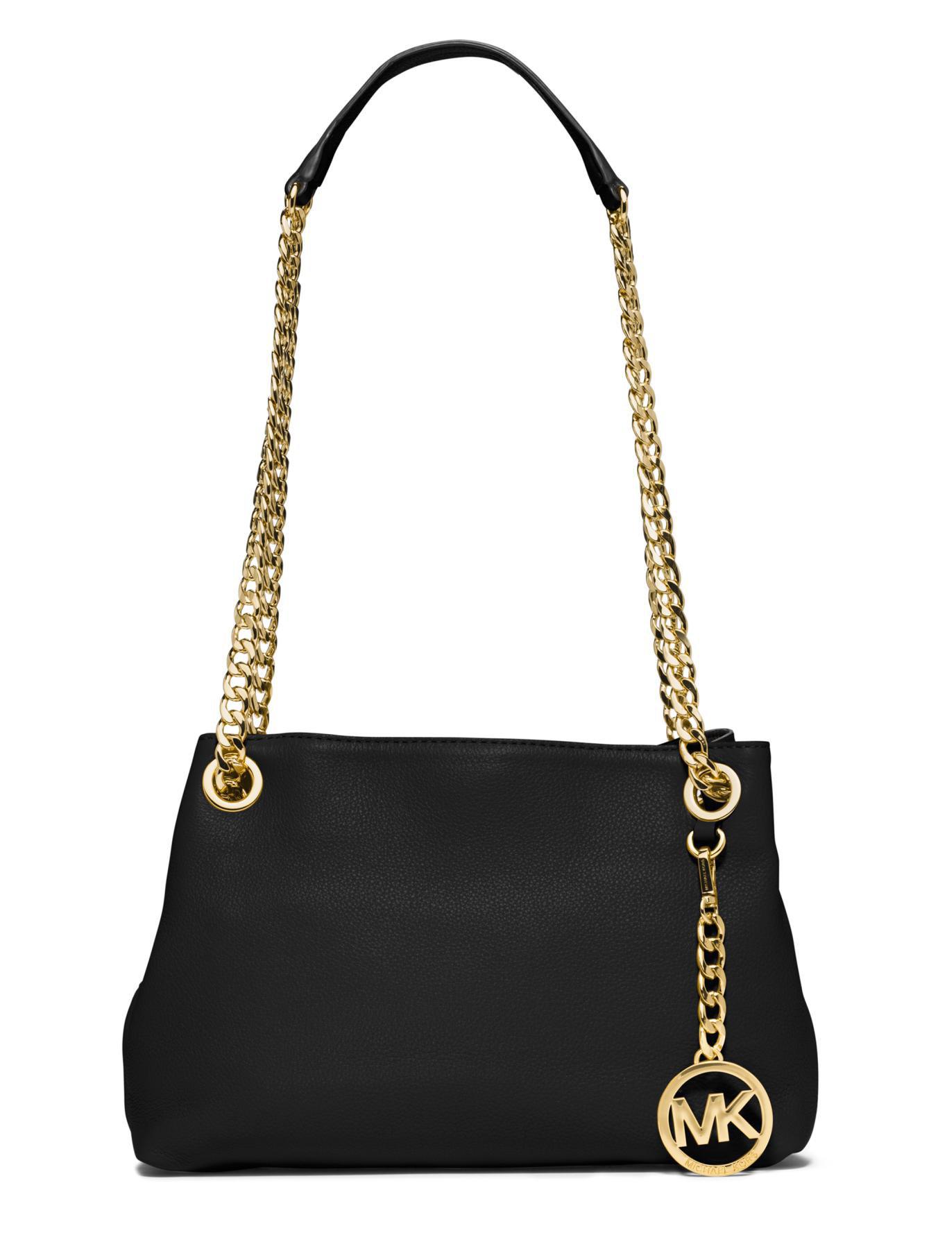 michael kors bag with gold chain