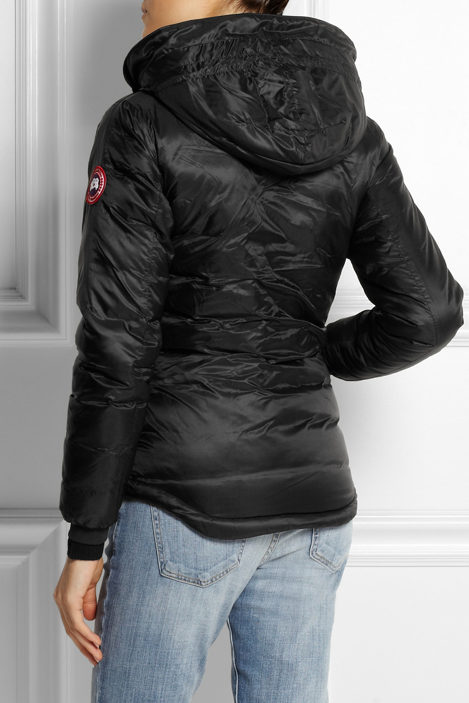 Lyst Canada Goose Camp Hoody Quilted Down Coat In Black