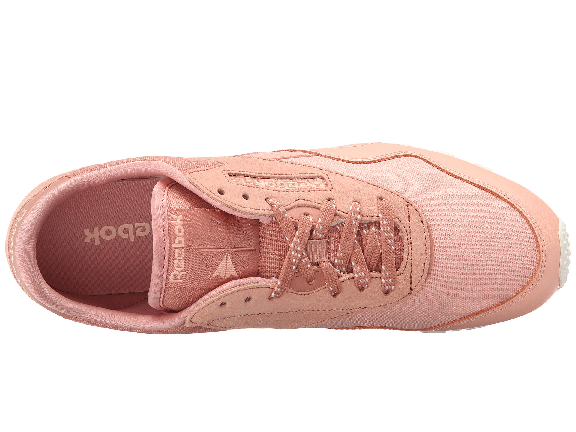 2133ff0240857 Lyst - Reebok Classic Nylon Slim Core in Pink