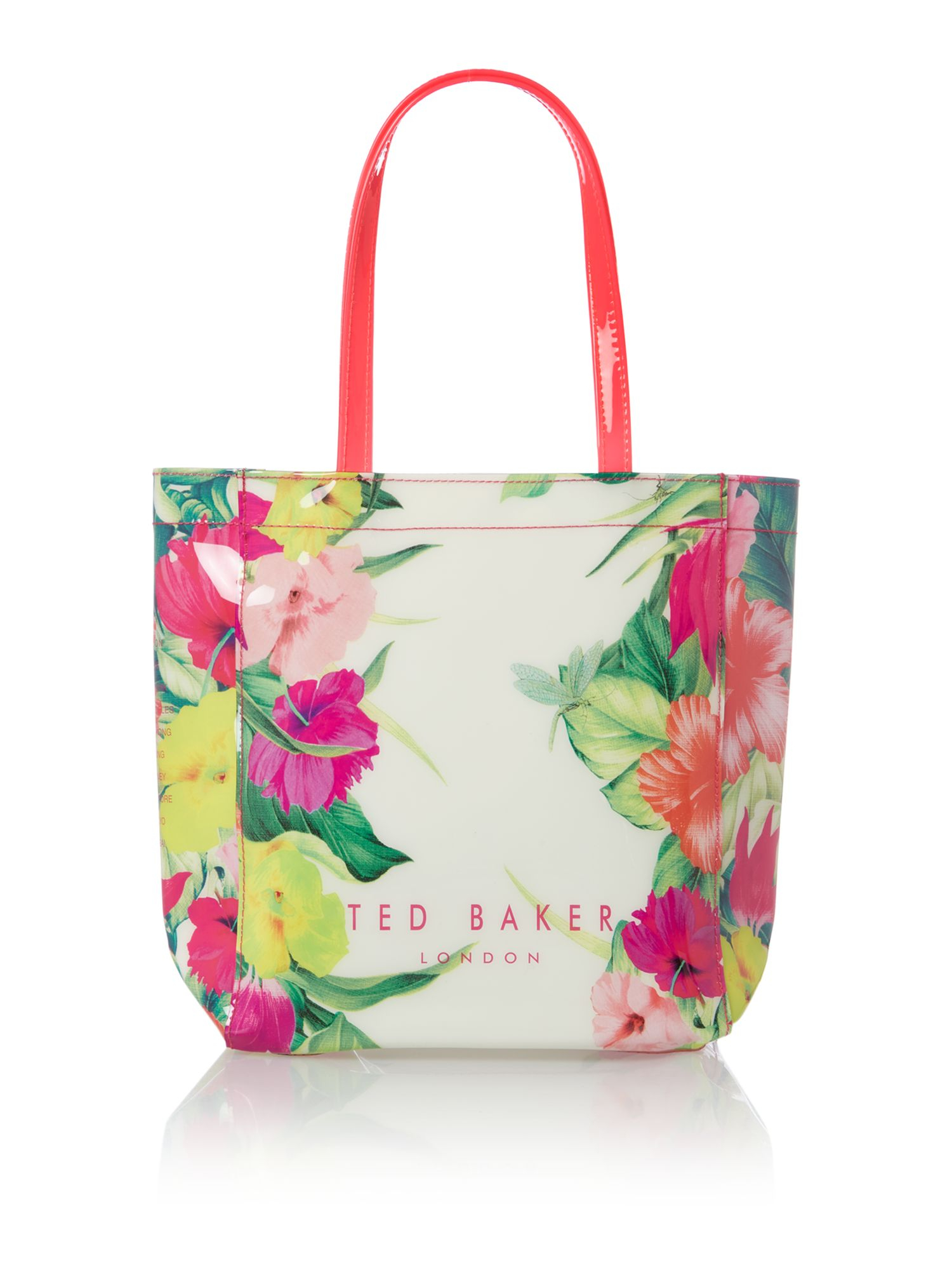 Ted baker Floral Small Tote Bag | Lyst