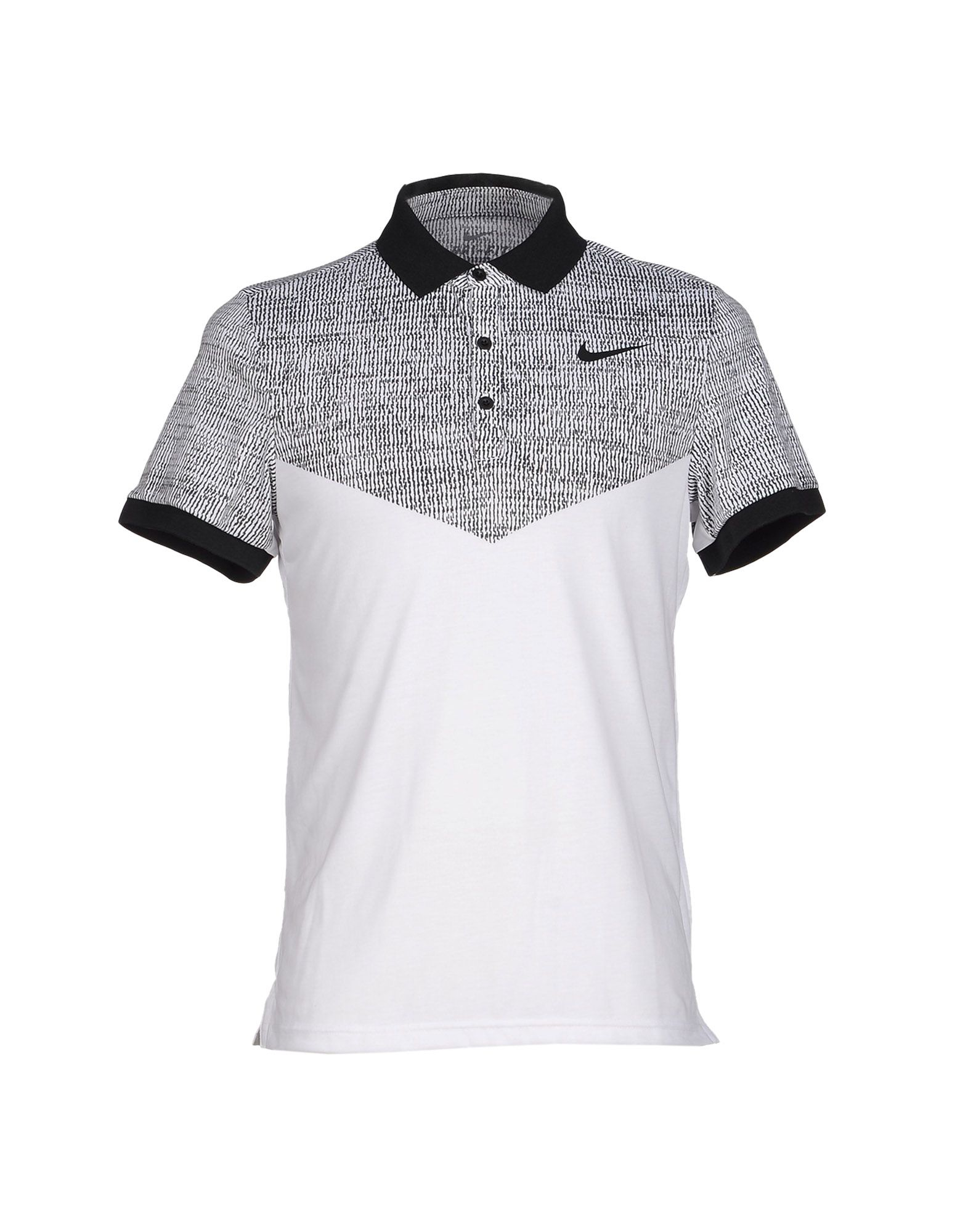 Nike polo shirt in black for men lyst for Nike custom polo shirts