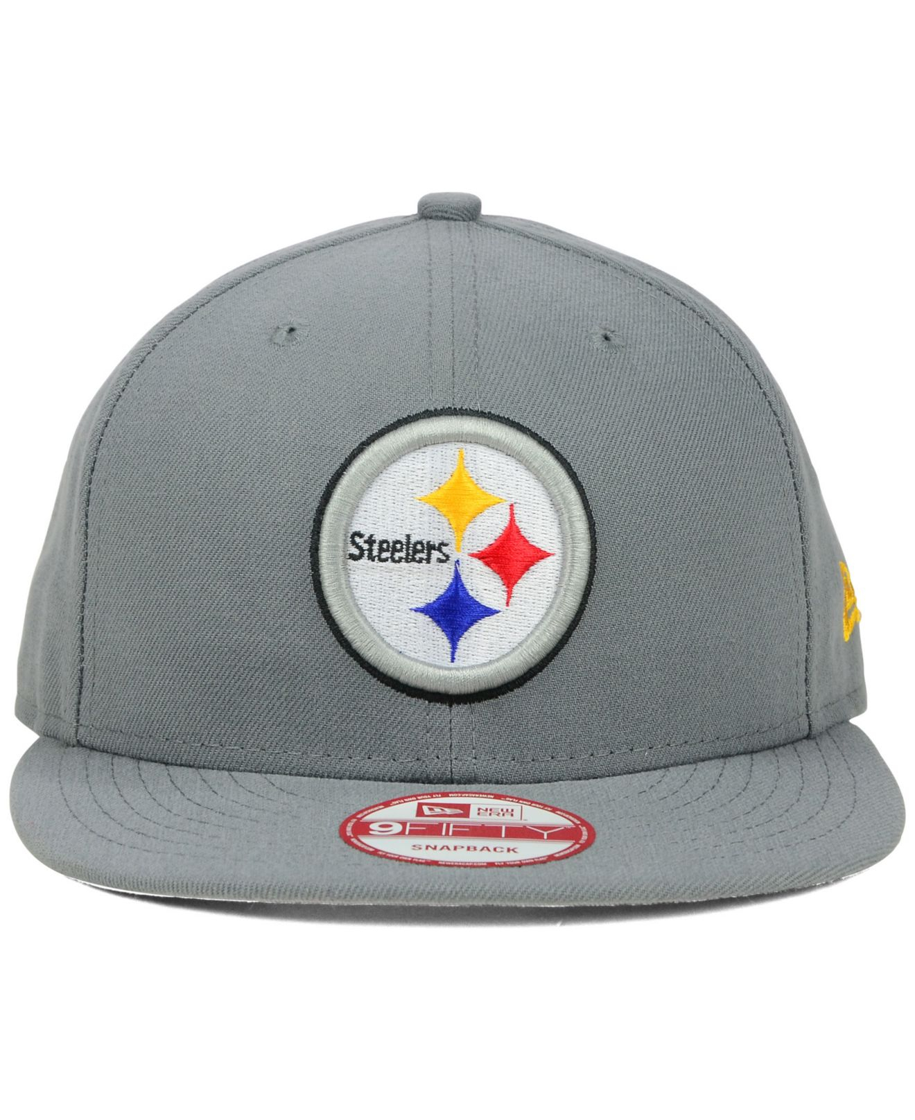 5f50132b26b Lyst - KTZ Pittsburgh Steelers Storm 9Fifty Snapback Cap in Gray for Men