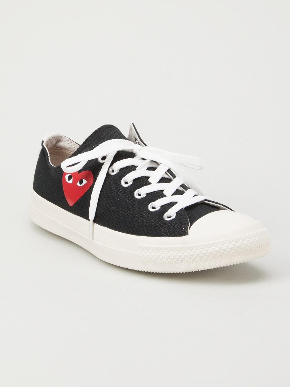 Comme Des Garcons Play Shoes Size