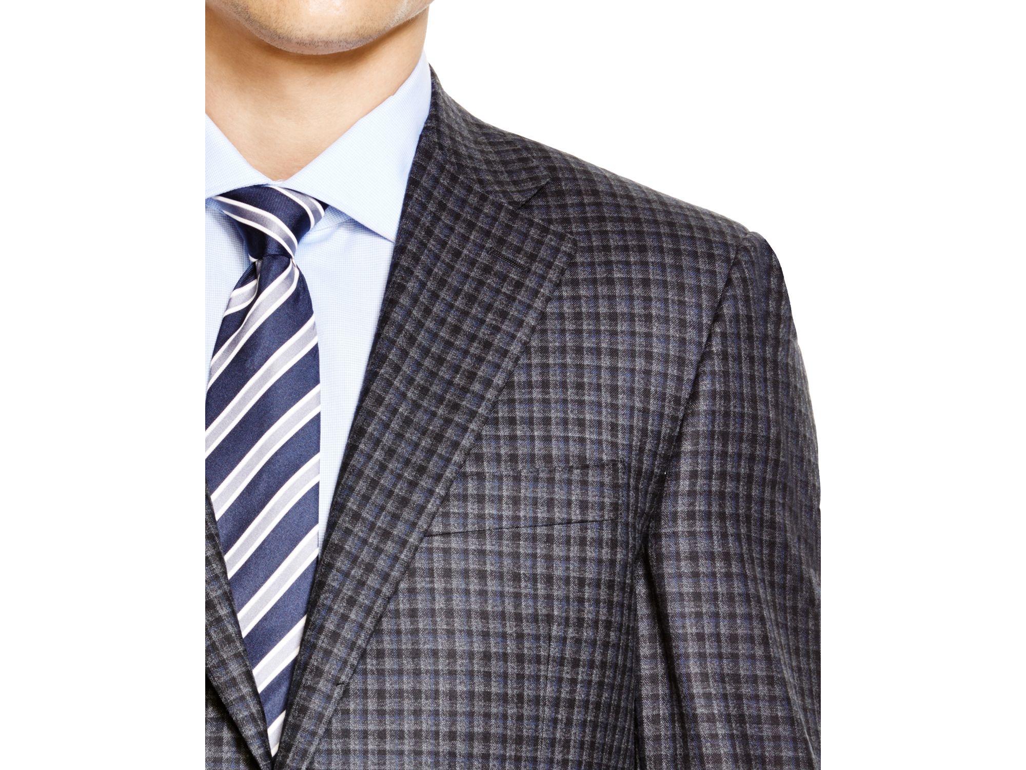 a23ba711e9e Lyst - Canali Siena Micro Box Classic Fit Sport Coat in Gray for Men