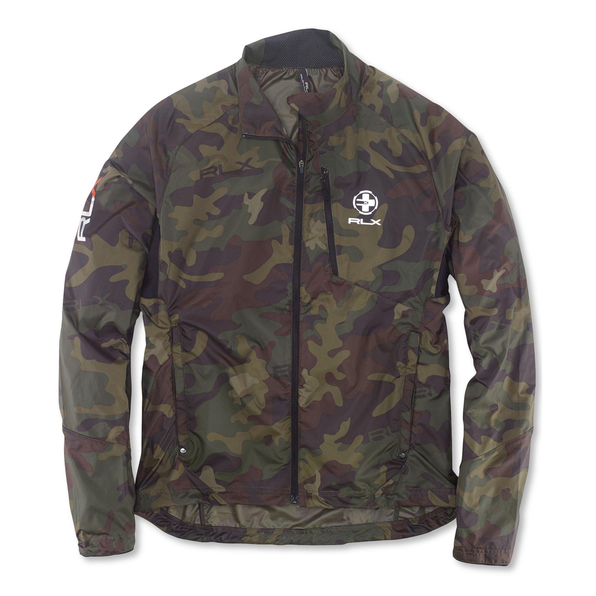 Ralph Lauren Polo Rlx Packable Trailwind Camouflage Jacket ...