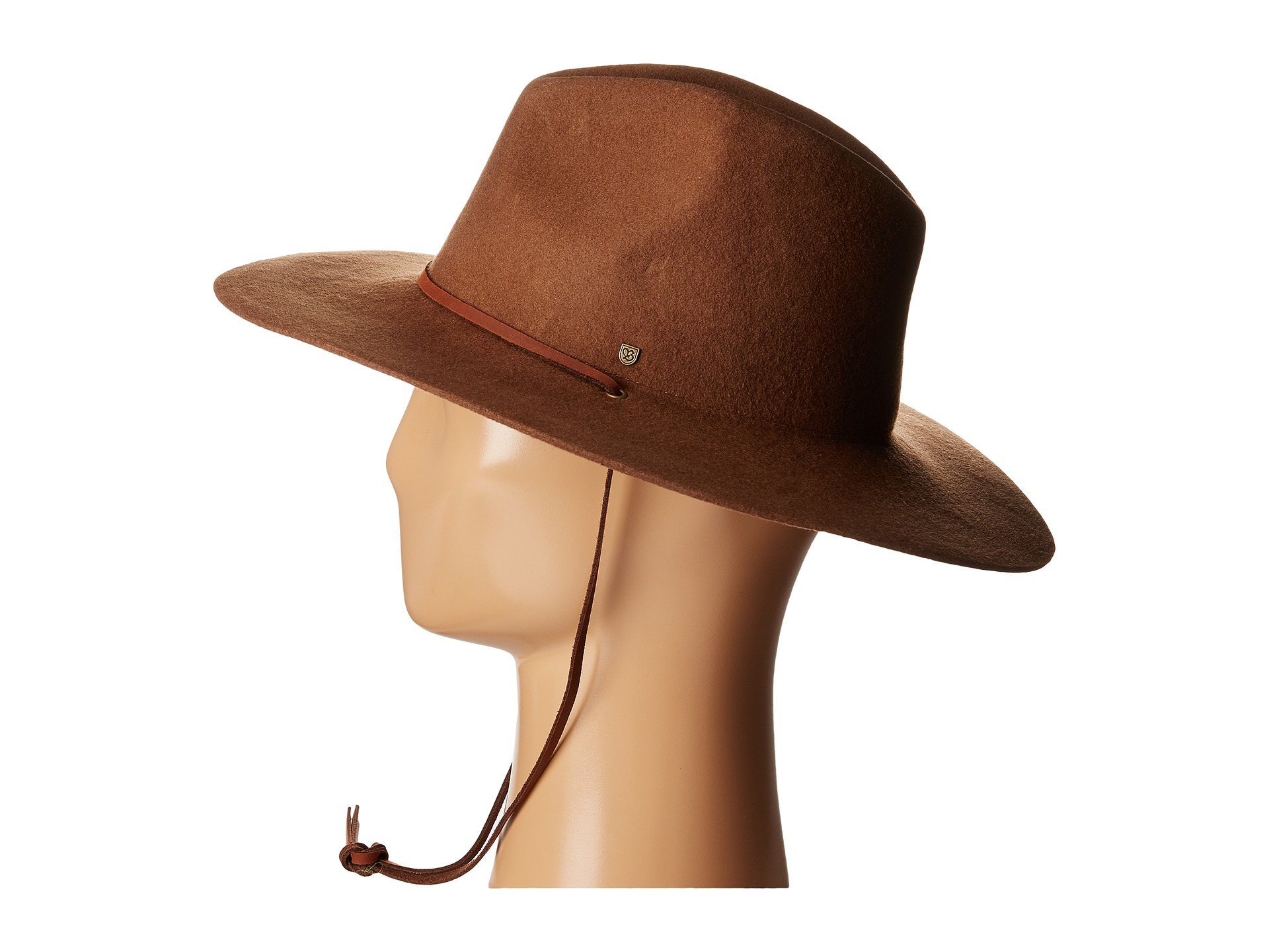 a2c86ff8f86 Lyst - Brixton Mayfield Ii Hat in Brown for Men