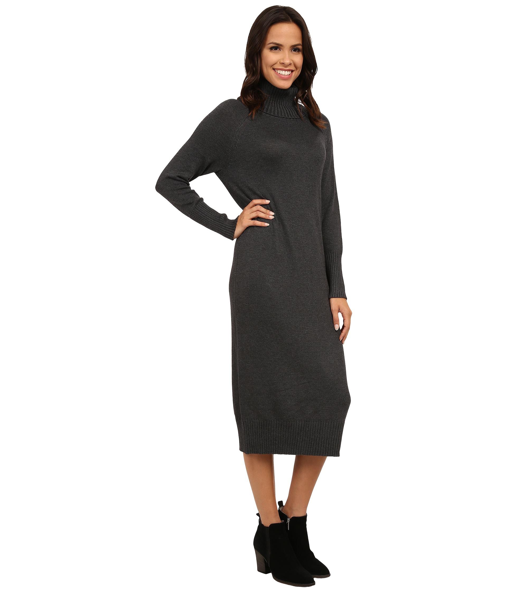 Maxi Turtleneck Sweater Dress