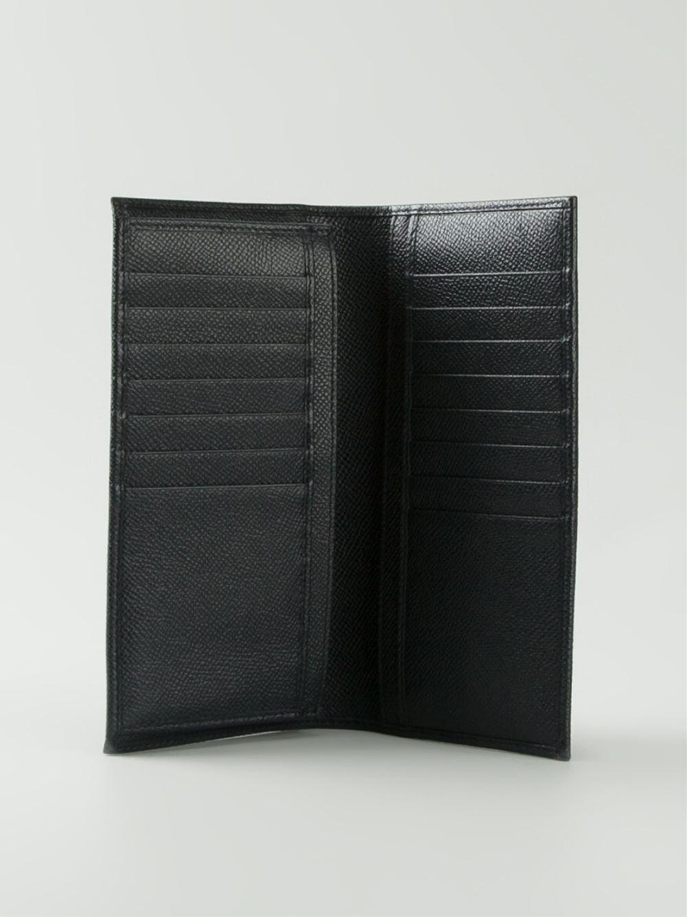 8887d7a93b71 Dolce & Gabbana Long Wallet in Blue for Men - Lyst