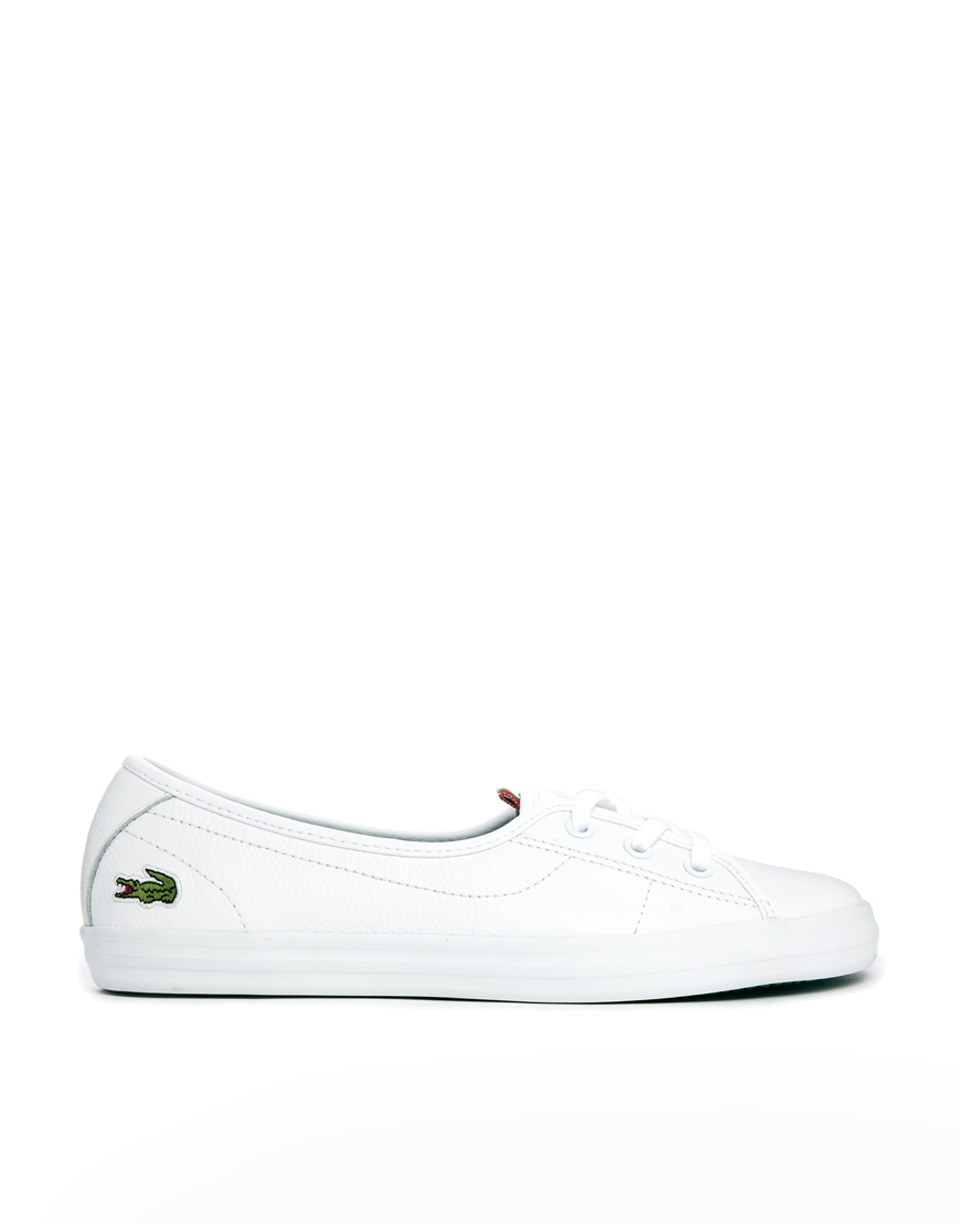 dab6a9df30f2 women s lacoste ziane iii canvas trainers