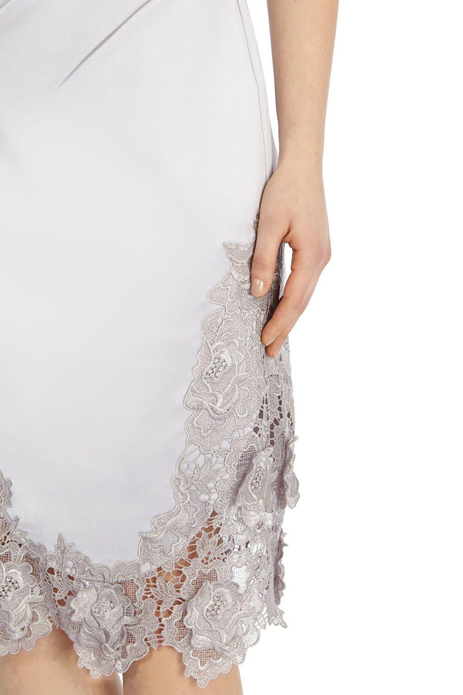 Coast satin and lace dress