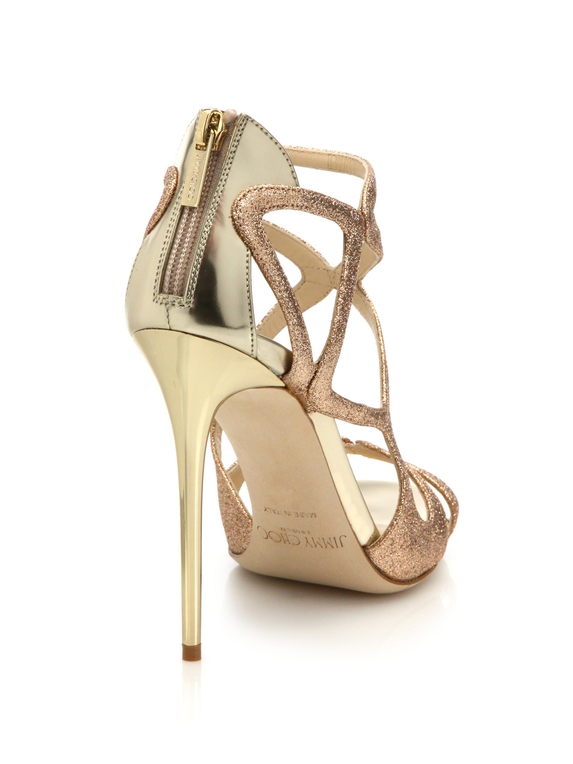 f1779e260f4 Gallery. Previously sold at  Saks Fifth Avenue · Women s Jimmy Choo Glitter  ...