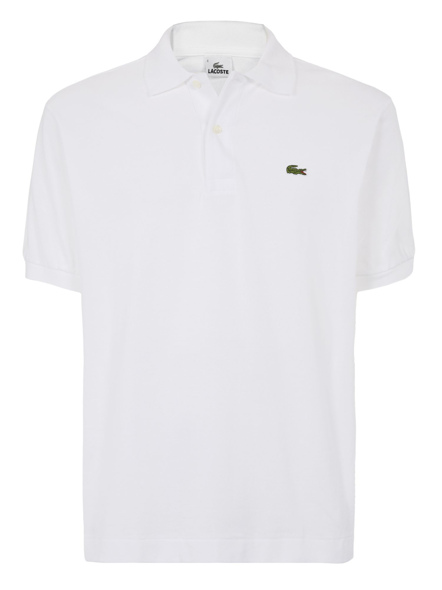 lacoste classic polo shirt in white for men save. Black Bedroom Furniture Sets. Home Design Ideas