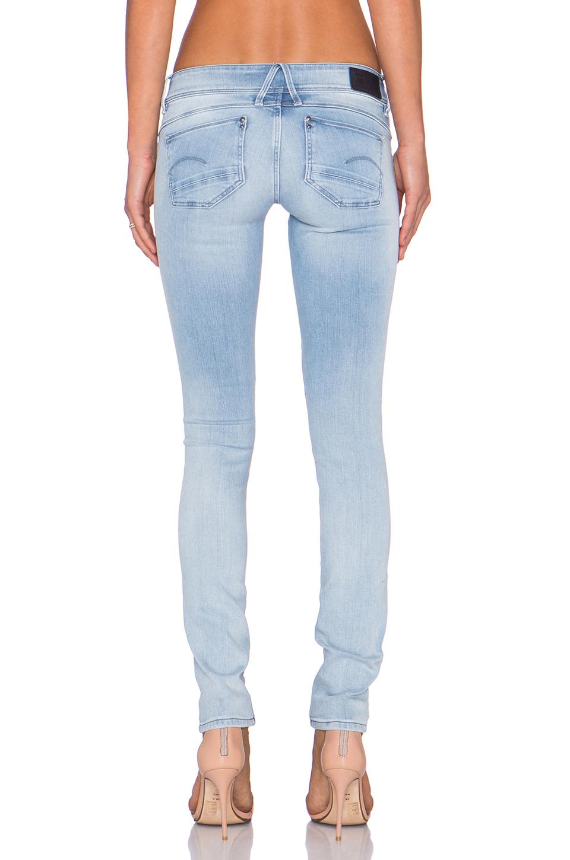 G-Star Jeans skinny LYNN MID SKINNY ZIP QEFcB87