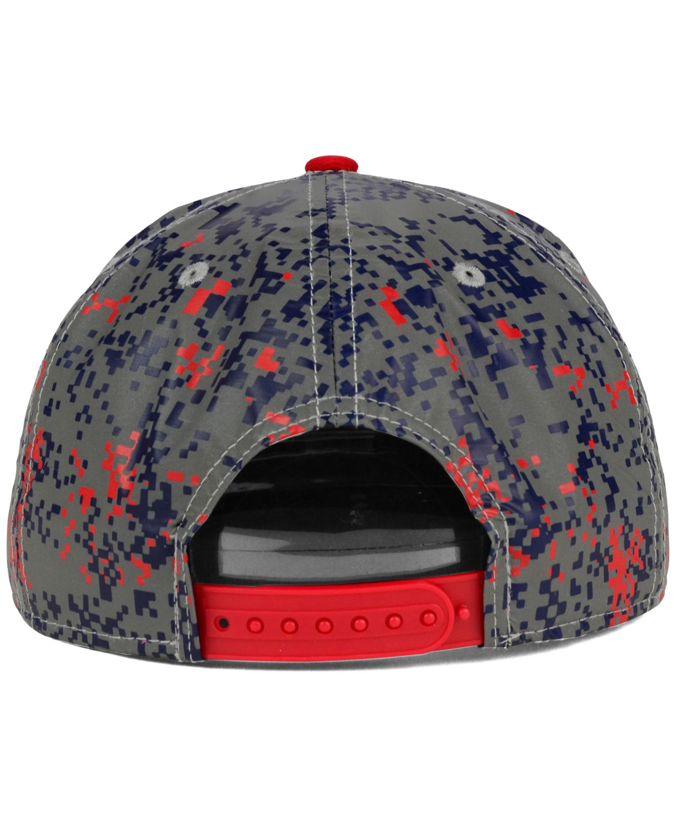 on sale 41cfd 7ff37 ... get lyst ktz texas rangers dc reflective 9fifty snapback cap in blue  80646 d4f0d