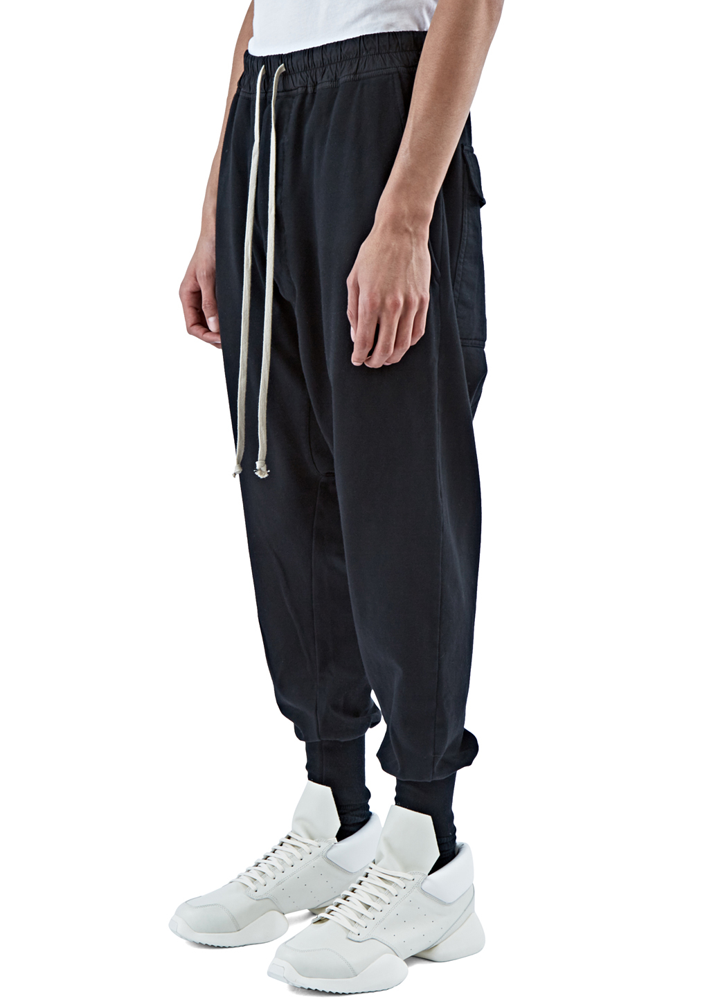 drawstring track pants - Black Rick Owens Cheap Wholesale Price Discount Ebay From China Outlet Best Prices Discount Marketable DSeZ7OECp