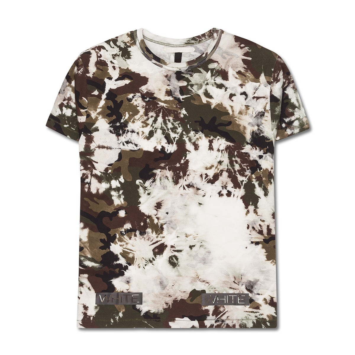 9c9ed522604b Lyst - Off-White c o Virgil Abloh Long Fit Camou T-shirt for Men