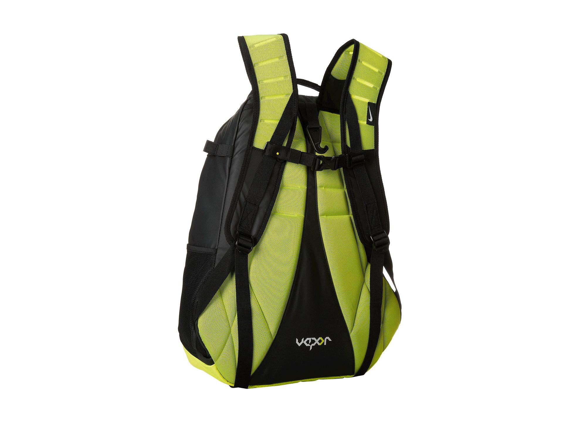 lyst nike vapor elite backpack in green
