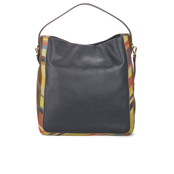 Wonderful Paul Smith Women39S Swirl Print Calf Leather 39Ziggy39 Bag In Multic