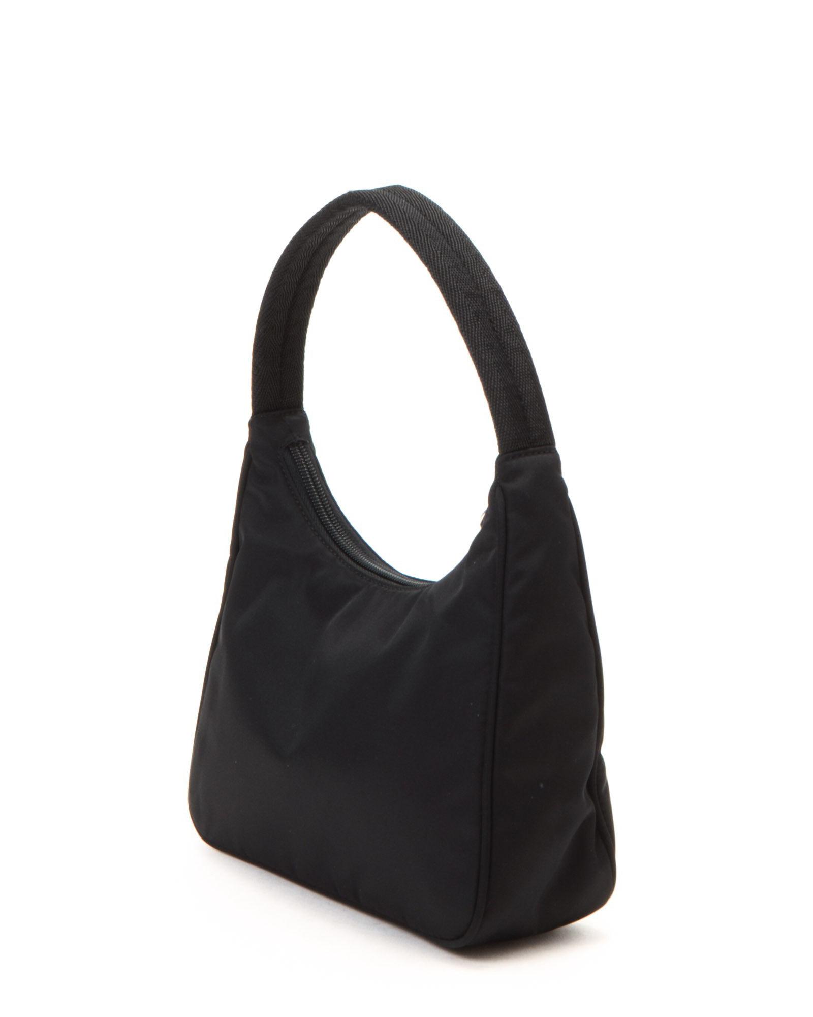 Prada Black Handbag - Vintage in Black | Lyst