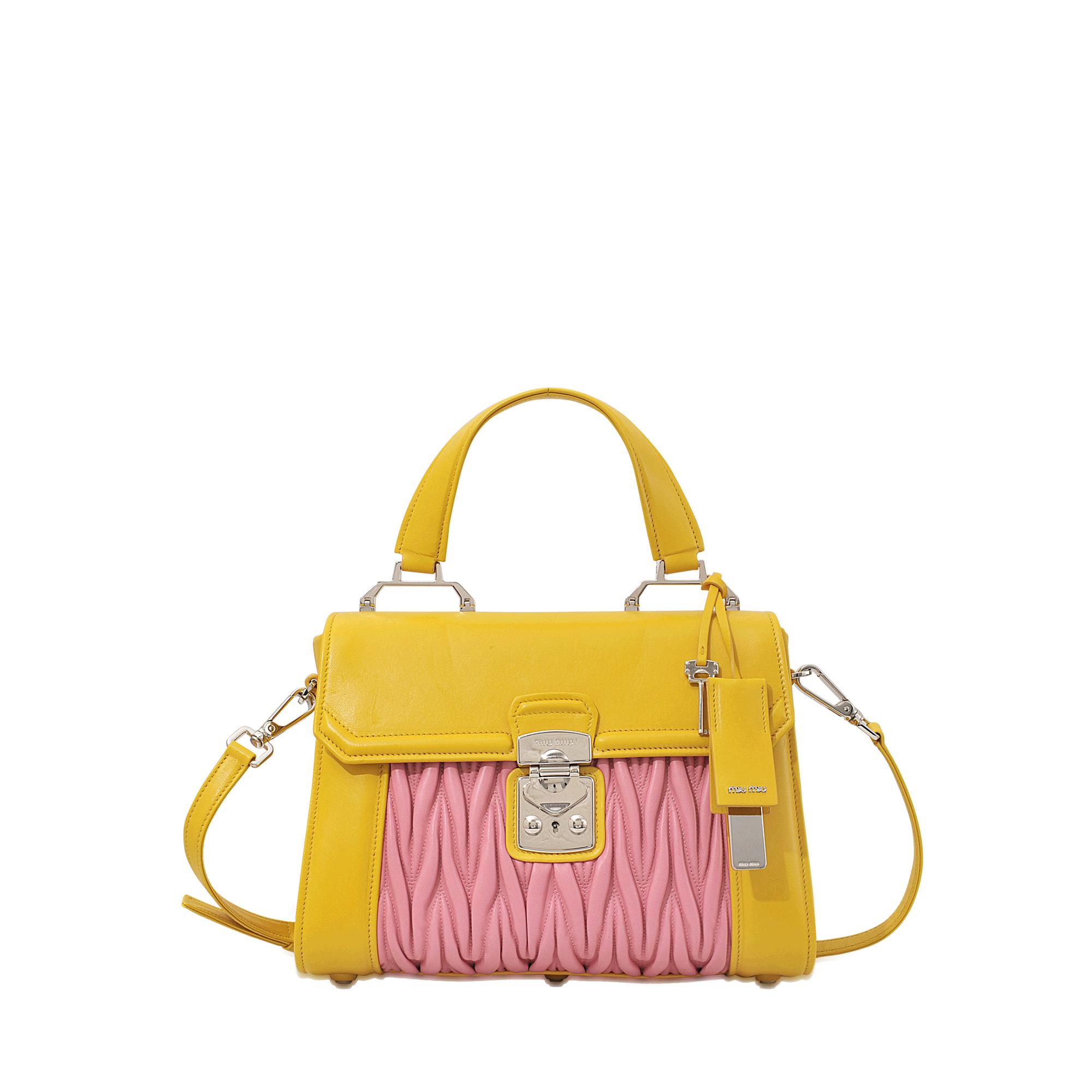 ccbc13eee3b8 miu miu online store - Miu miu Amiulet Matelass¨¦ Top Handle Bag in Pink