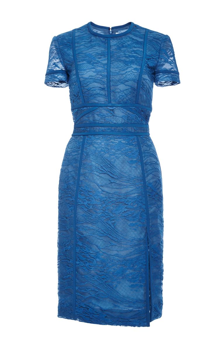 J mendel blue dress short