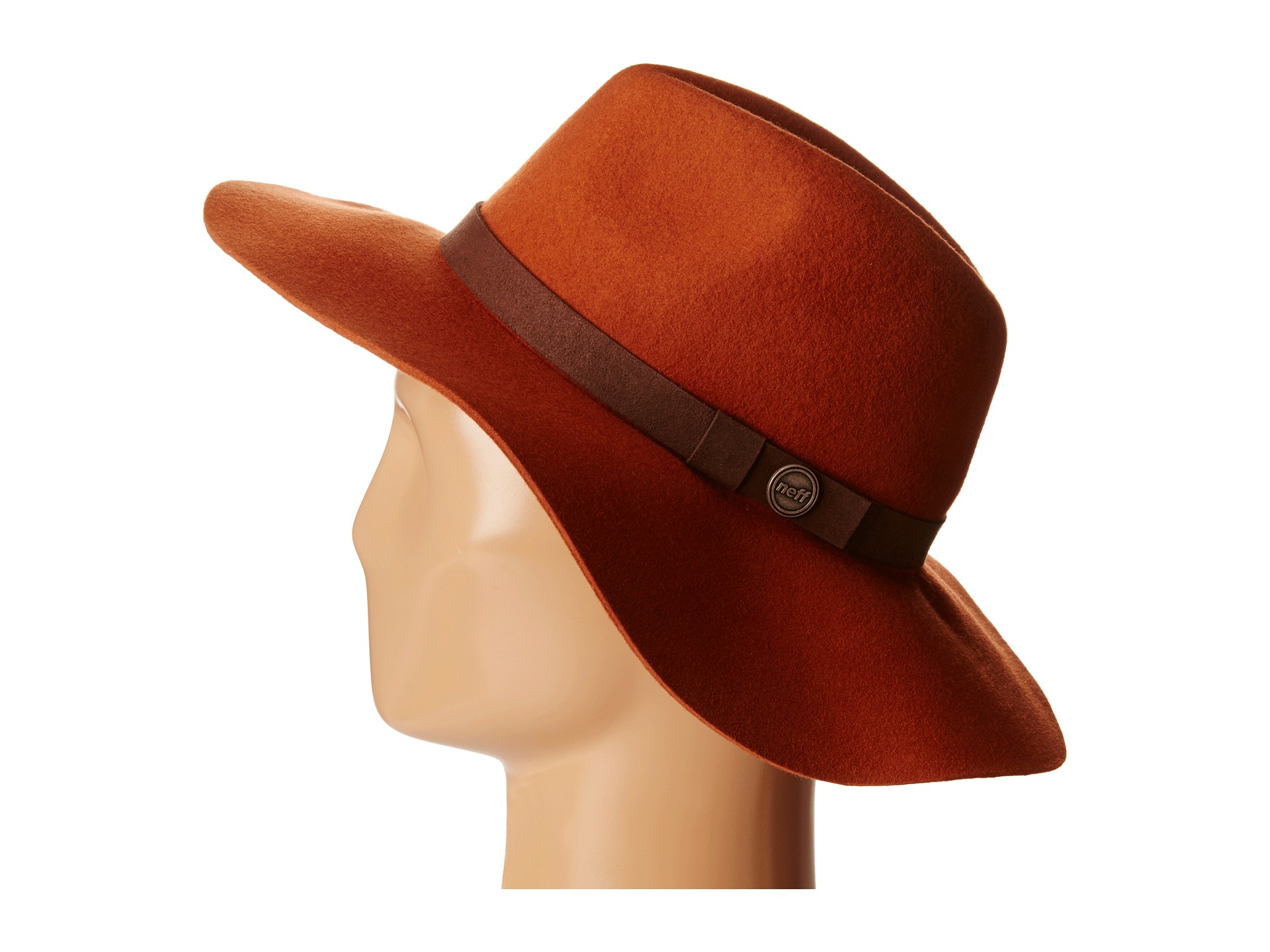 6f6b3513ae7d3 Neff Marion Hat (Aphrodite) in Brown - Lyst