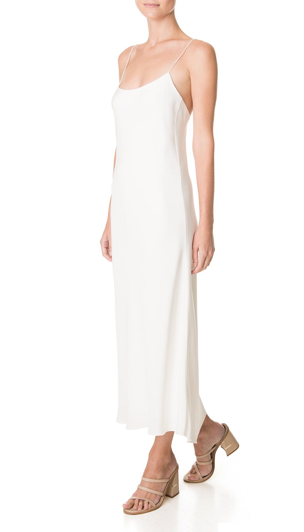 Lyst - Tibi Silk Bias Slip Dress