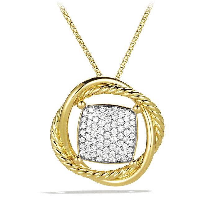 David Yurman Infinity Medium Pendant Necklace With