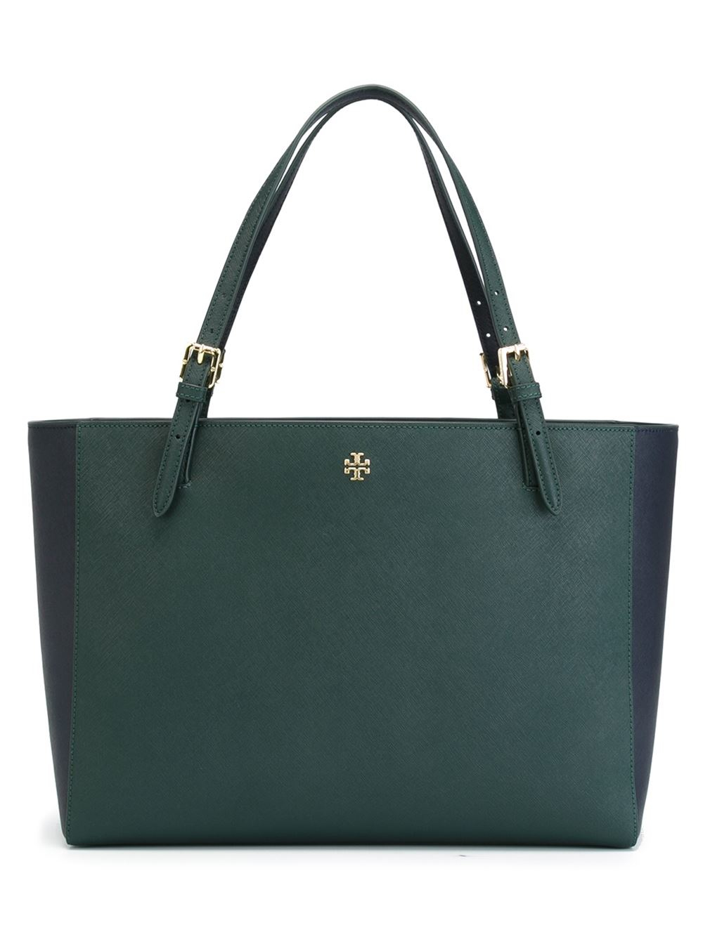 Tory Burch Perry Tote Bag In Green Lyst