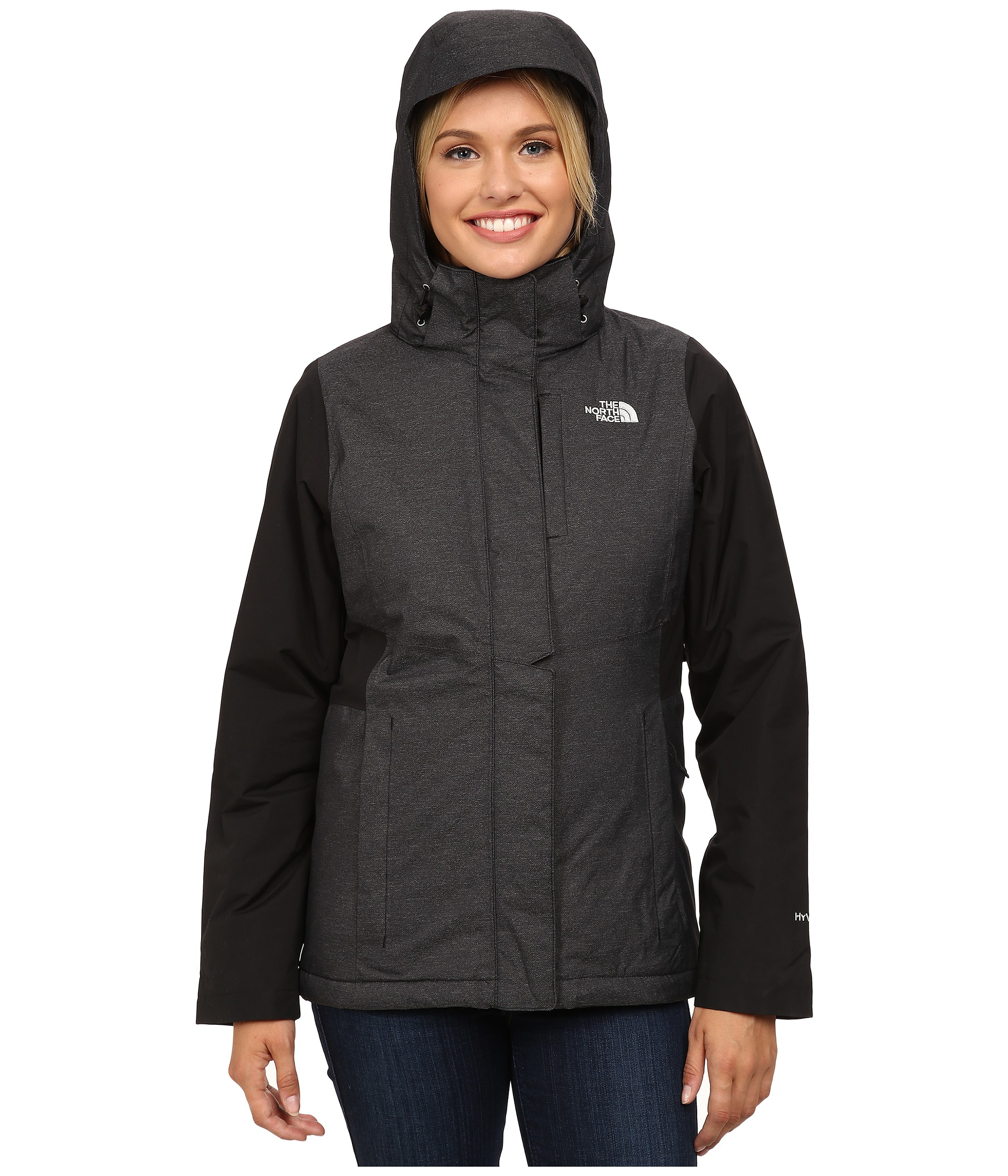 18c53ee09e76 Lyst - The North Face Inlux Insulated Jacket in Black