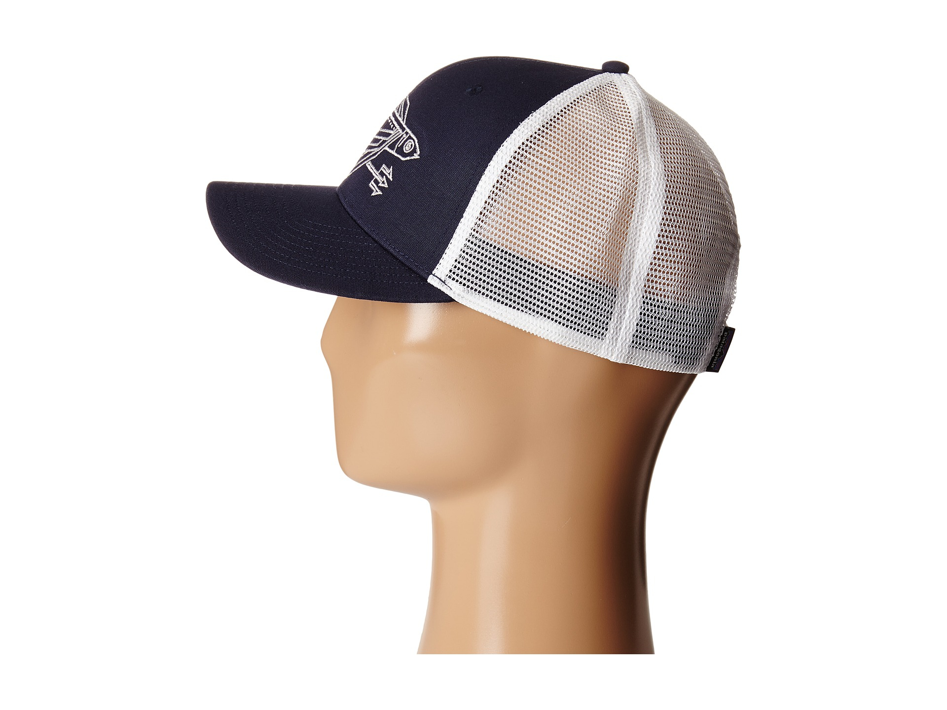 35561a93 Patagonia Geodesic Flying Fish Trucker Hat in Blue - Lyst