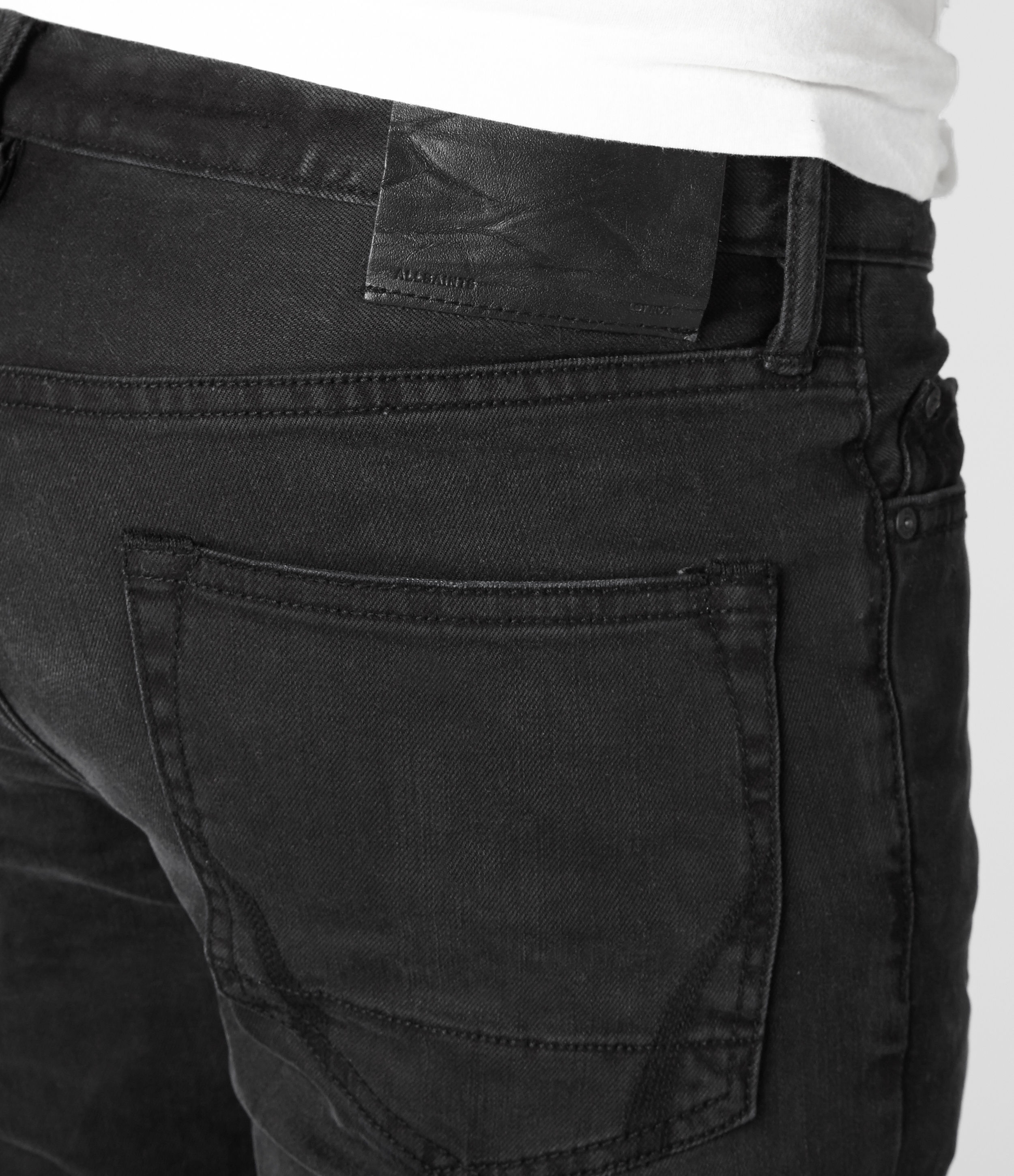 Allsaints Naniwa Cigarette Jeans Usa Usa in Black for Men | Lyst
