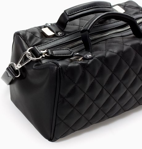 Zara Quilted Crossbody Bag 80
