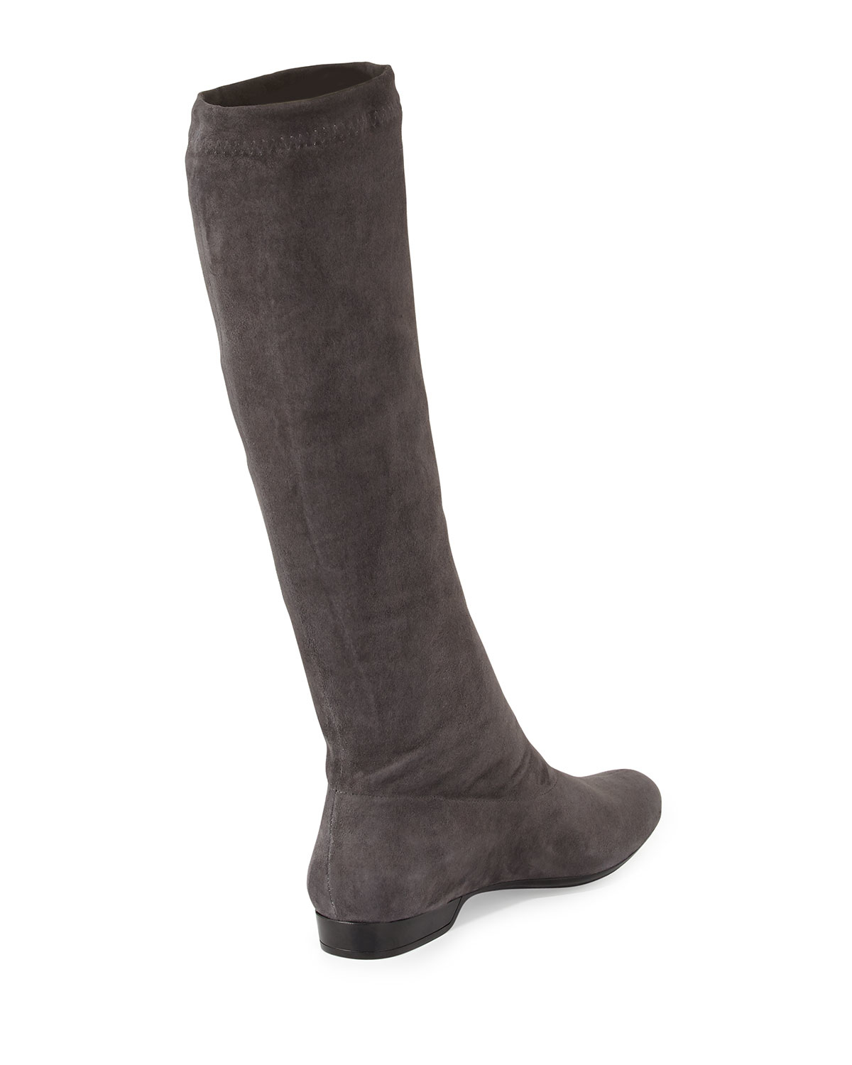 60e68212d91 Lyst - Robert Clergerie Folonj Suede Knee-High Boots in Gray