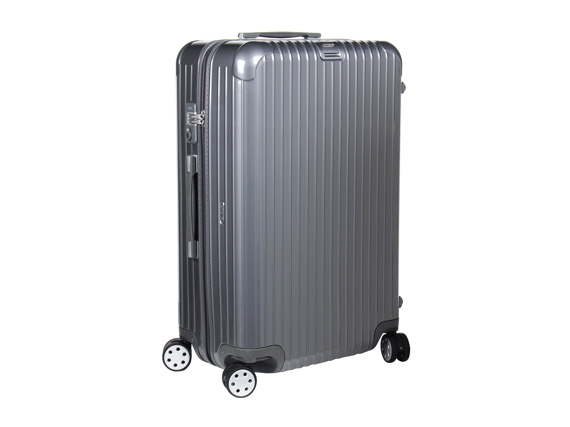rimowa salsa deluxe 29 multiwheel in gray seal gray lyst. Black Bedroom Furniture Sets. Home Design Ideas