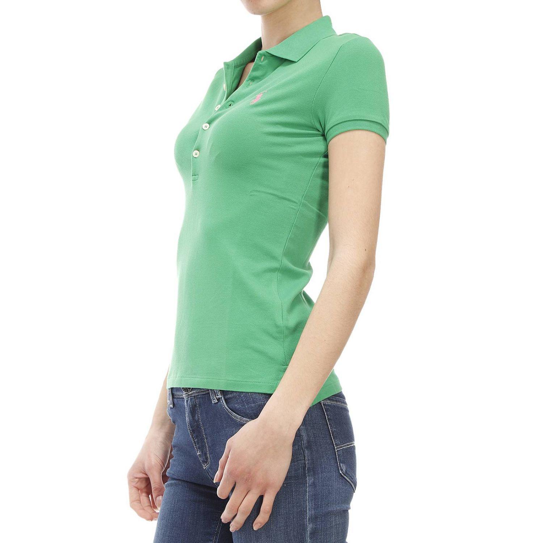 polo ralph lauren t shirt in green lyst. Black Bedroom Furniture Sets. Home Design Ideas