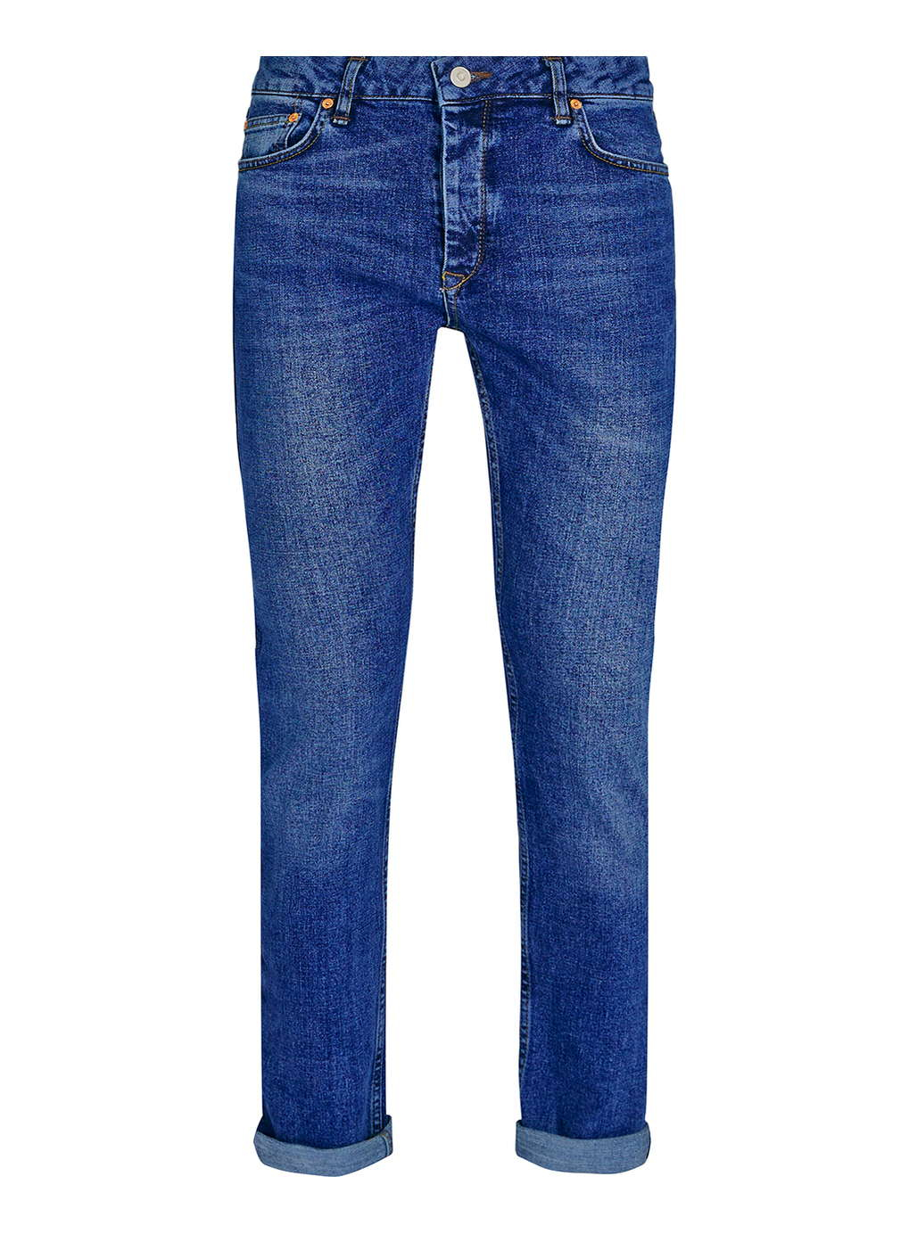 Selvedge is rigid, strong % cotton denim, bound with a