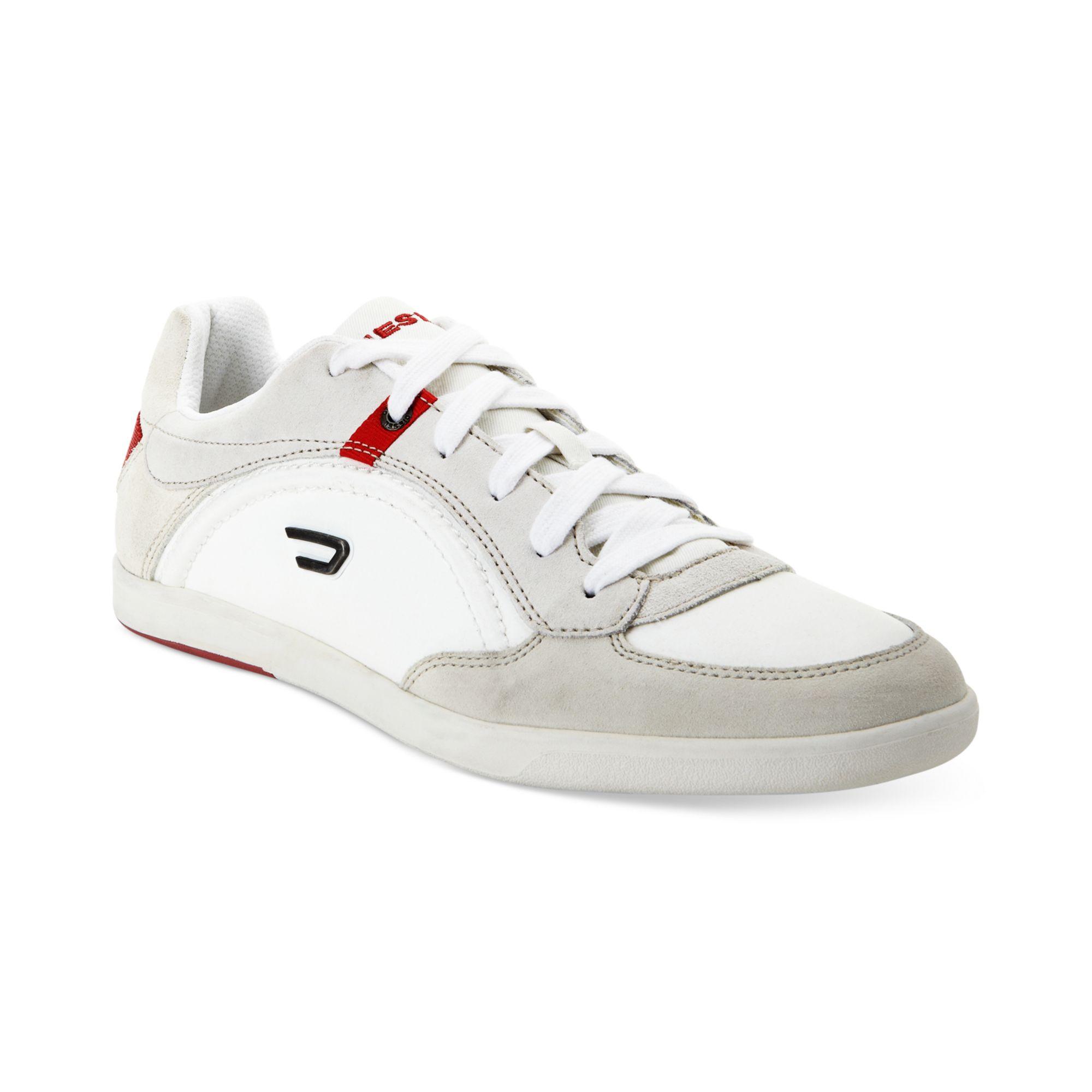 diesel eastcop starch sneakers in white for men lyst