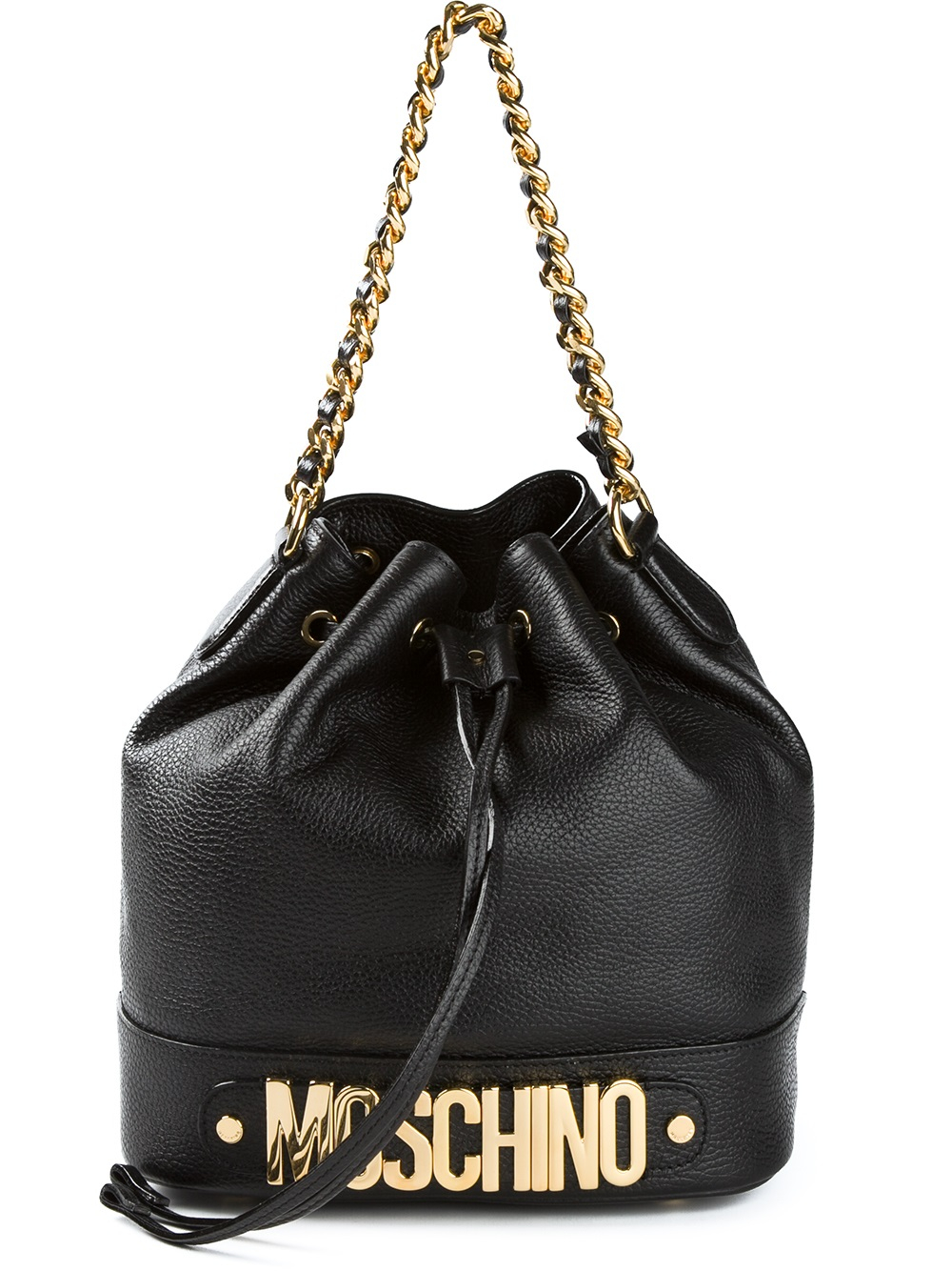 Moschino Bucket Bag In Black Lyst
