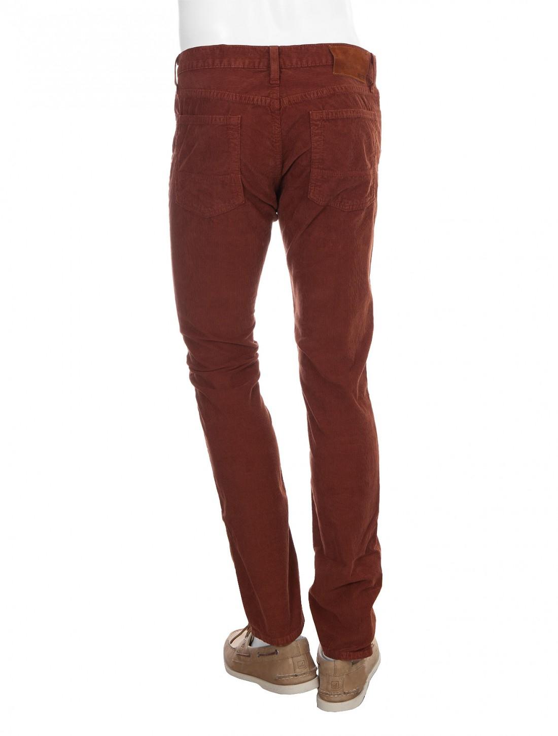 Vince Five Pocket Corduroy Pants in Brown for Men (rust) | Lyst