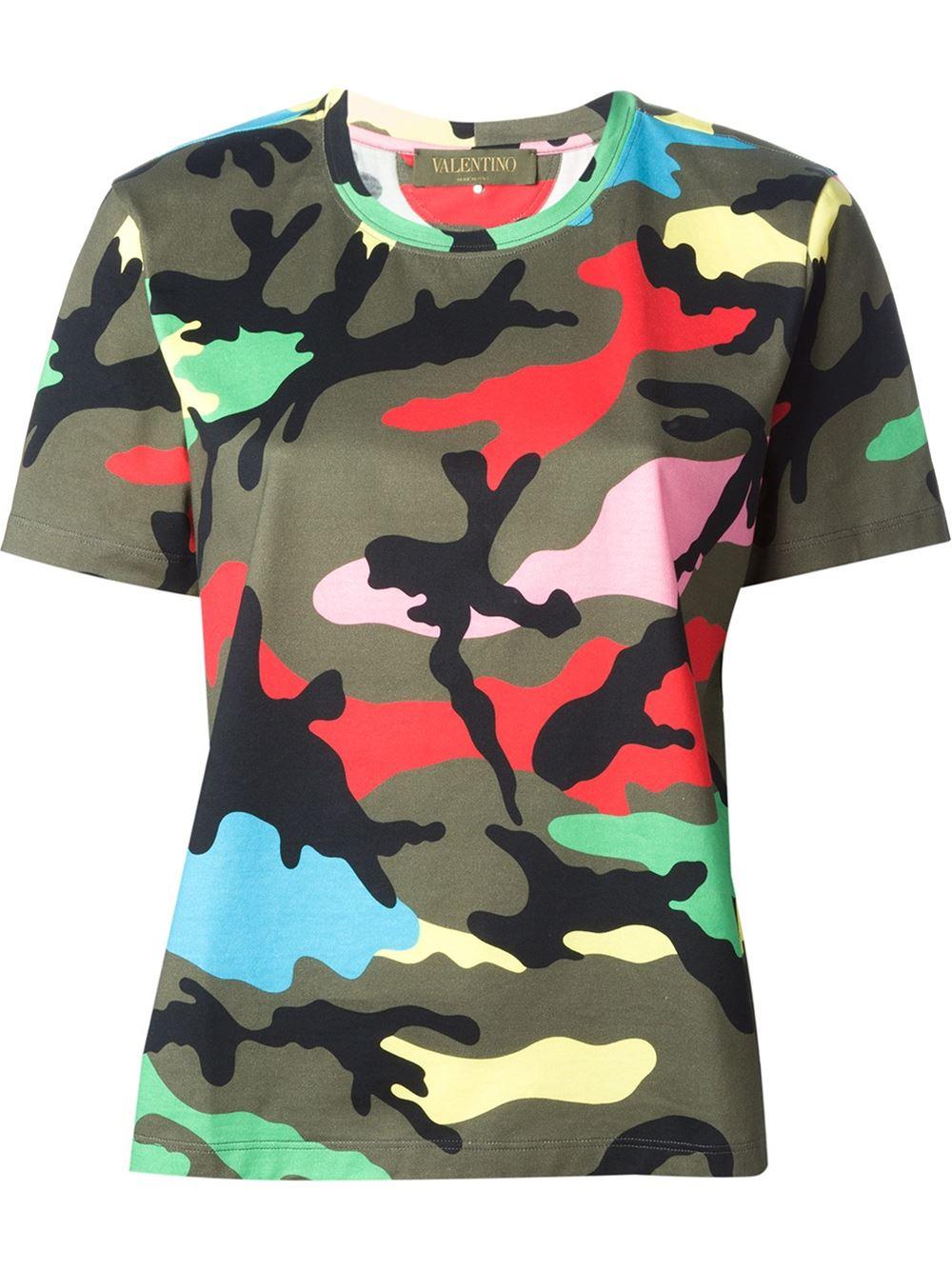 Discount Explore Free Shipping Popular Cotton shirt Valentino Sale 2018 tP7CFlOYev