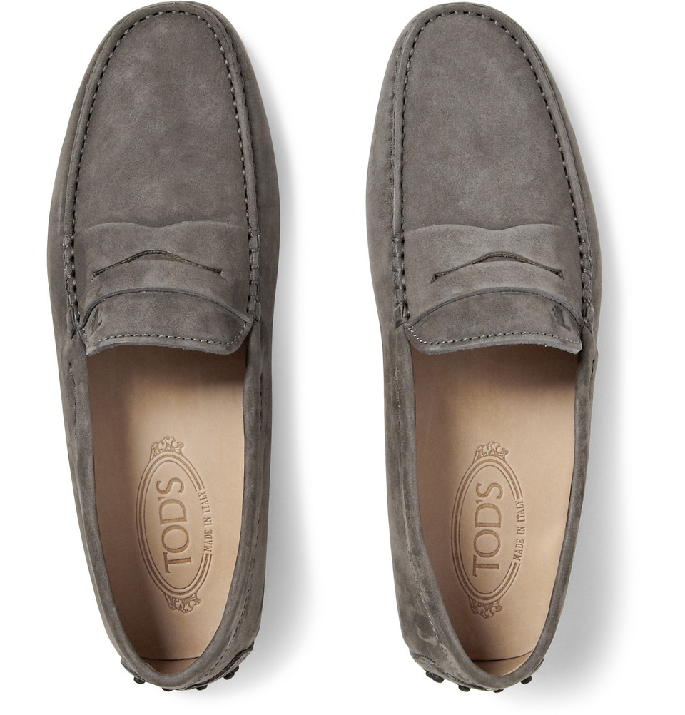 Tod S Nubuck Driving Shoes