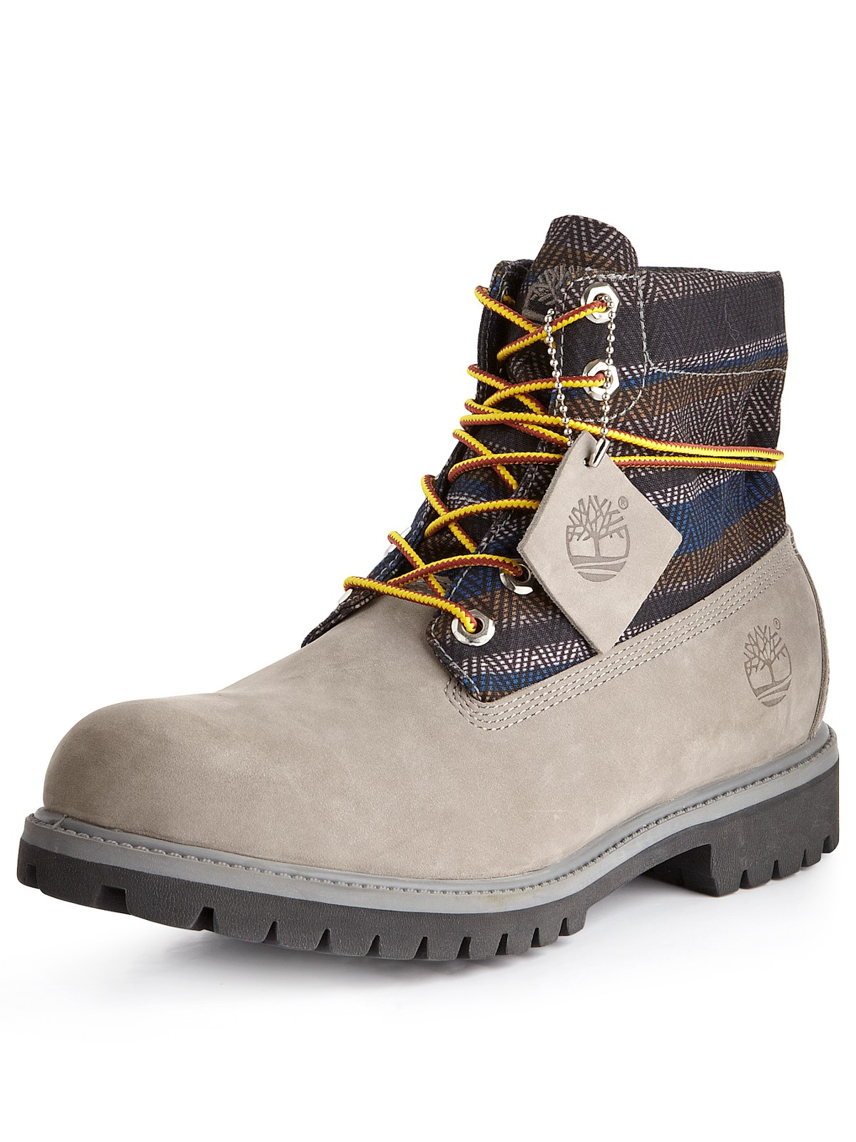 timberland timberland roll top mens boots grey nubuck in. Black Bedroom Furniture Sets. Home Design Ideas