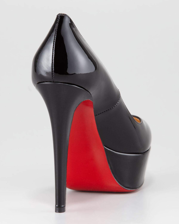 size 40 0965f a73c4 free shipping louboutin black pumps red sole pump 76a41 3e607