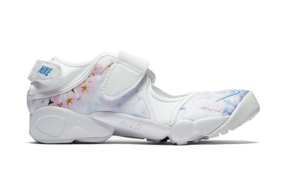 085a31d39 Lyst - Nike Wmns Air Rift Cherry Blossom in White