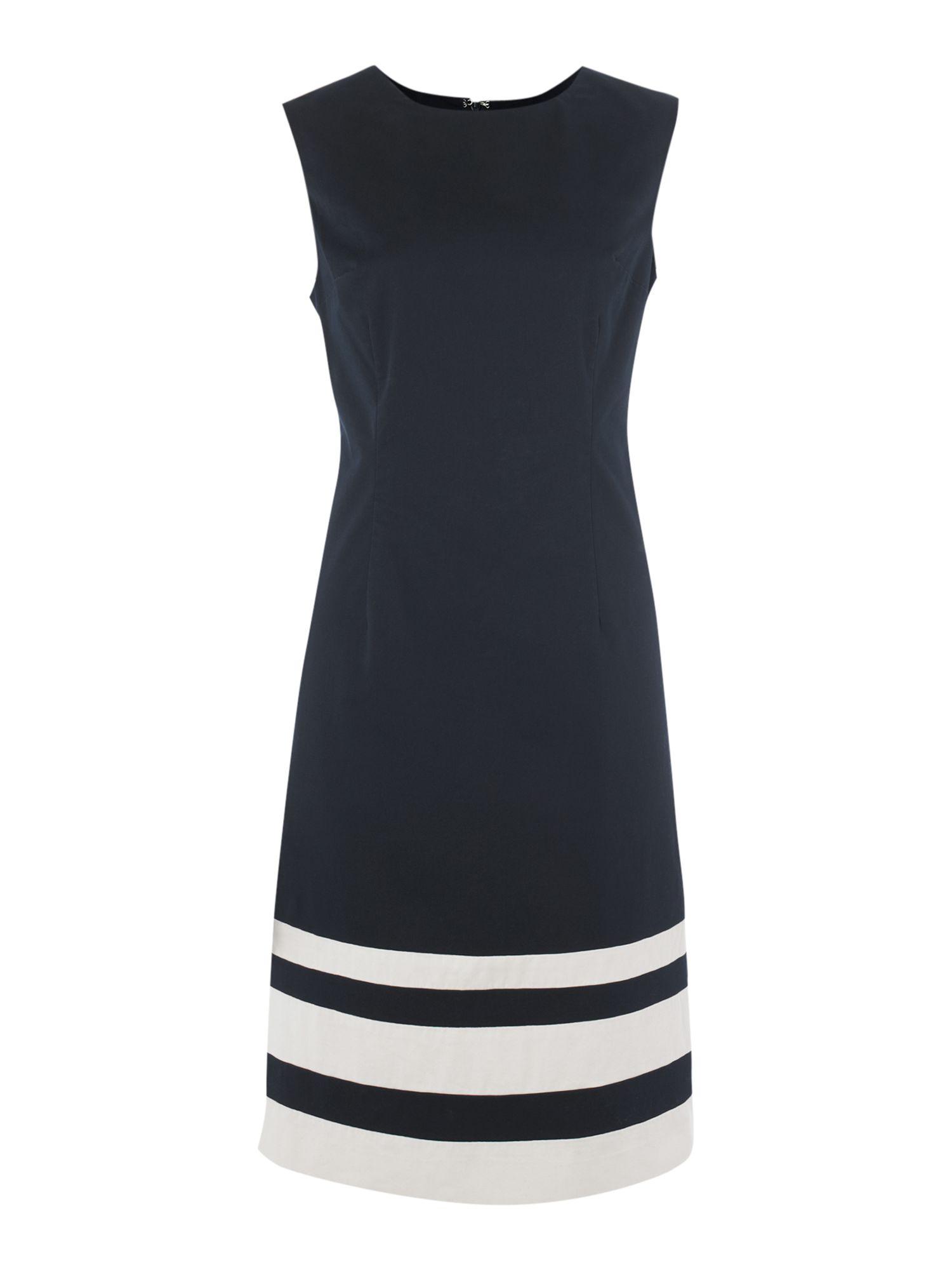 Sleeveless dress GANT blue GANT CD9Cs